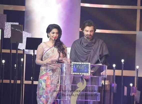 Sanam Jung And Hamza Ali Abbasi Hosting 3rd HUM Awards