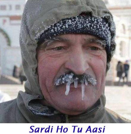 Sardi Ho Tu Aasi Funny Images Photos