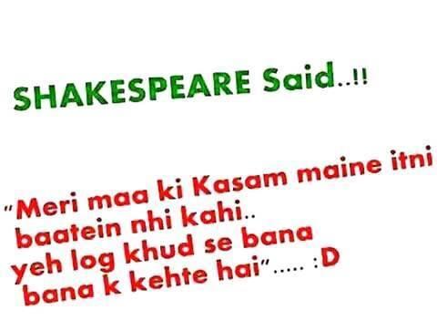 Shakespeare Said