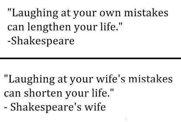 Shakespeare & His Wife