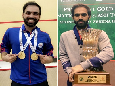 Squash Champion Is Select In Pakistan