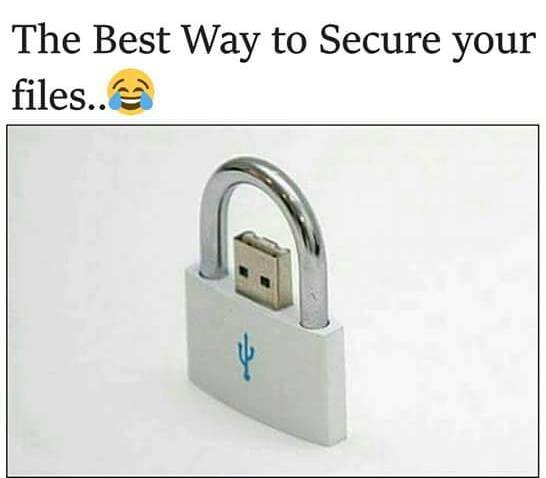 The Best Way To Secure Your Files