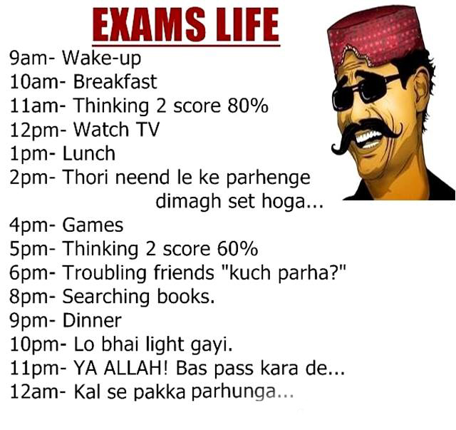 The Exams Life - Very Funny
