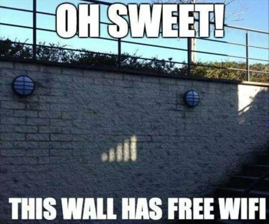 The Wall Has The Wifi
