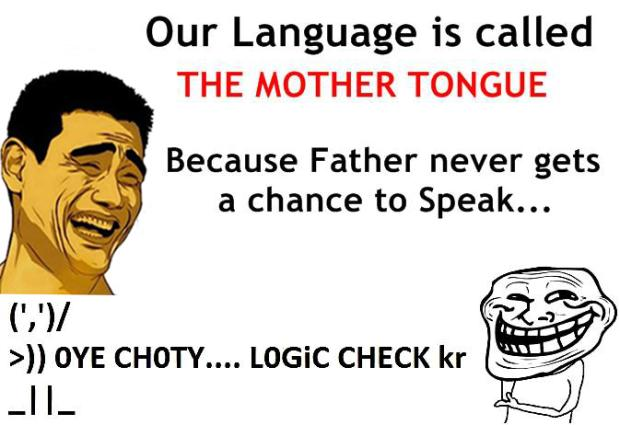 This Is Why Our Language is Called Mother Tongue
