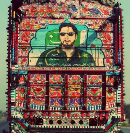 Truck Art and Shahid Afridi