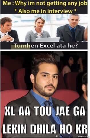 Tumhen Excel Aata Hai
