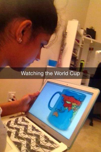 Watching A World Cup
