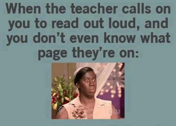 Weird Classroom Moment Ever