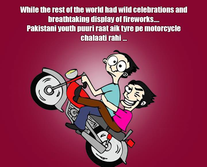 What Pakistani Youth Do On New Year