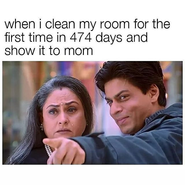 When I Clean My Room