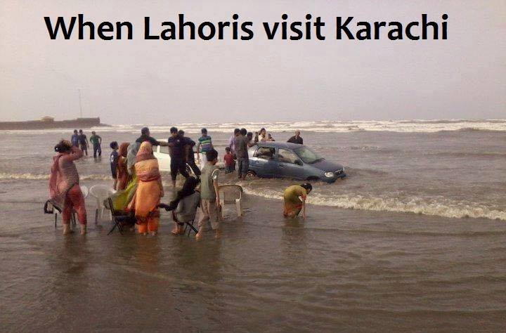 When Lahoris Visit Karachi