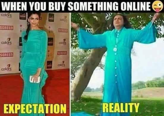 When You Buy Something Online