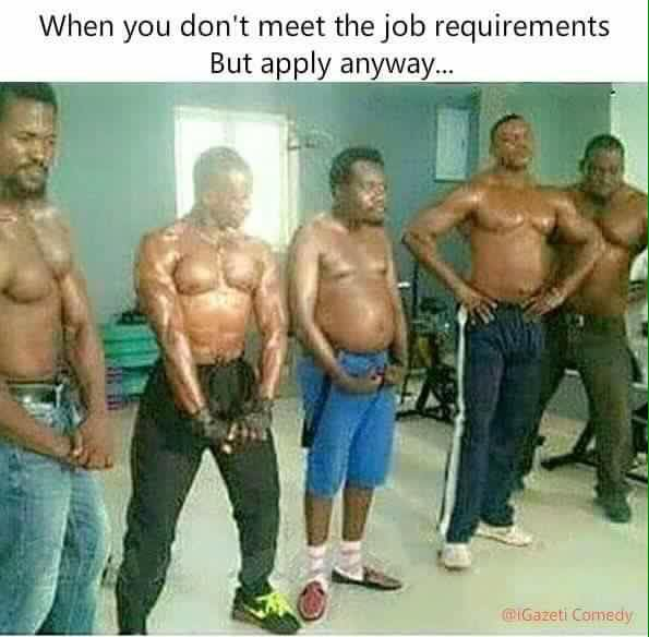 When You Dont Meet The Job Requirements But Apply