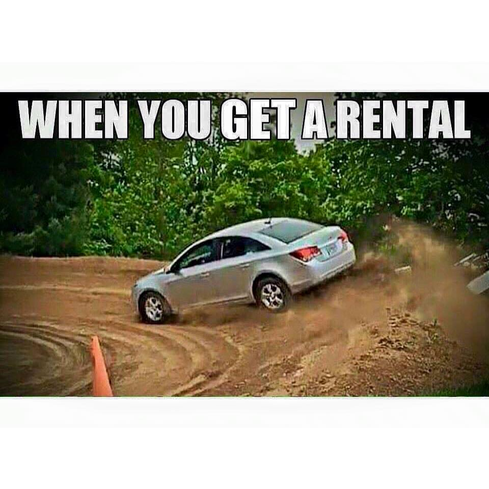 When You Get A Rental