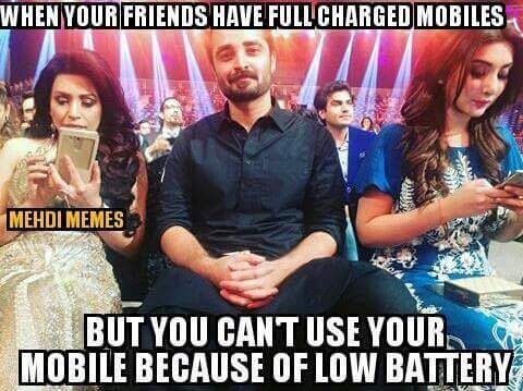 When Your Friends Have Full Charged Phones