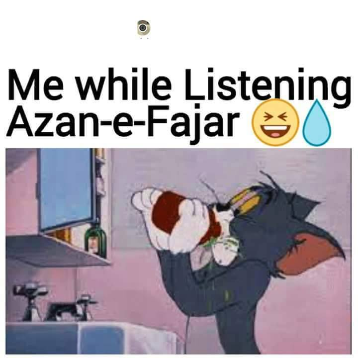 While Listening Azaan e Fajar