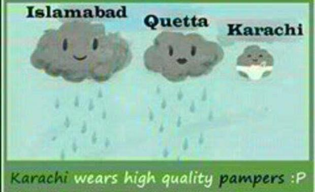 Why No Rain In Karachi