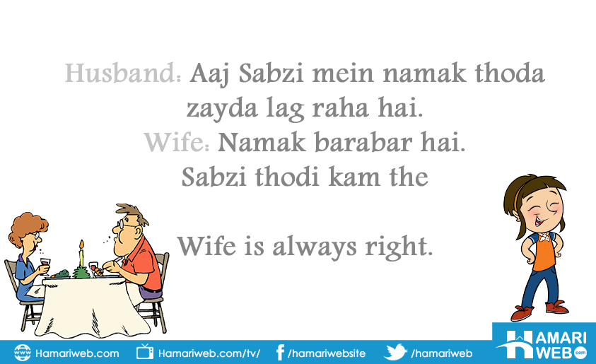 Wife is Always Right