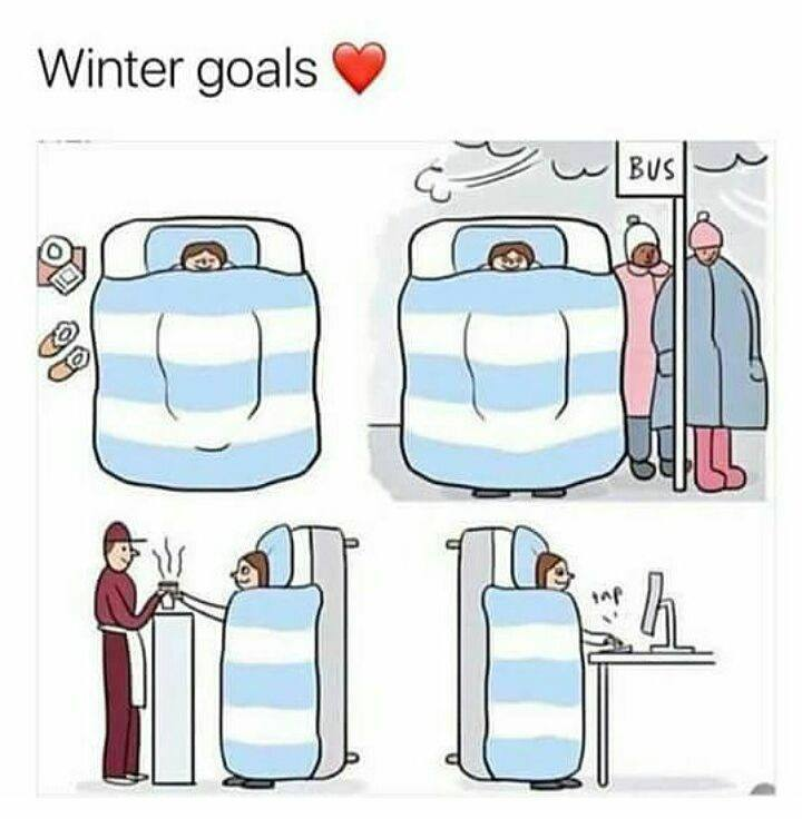 Winter Goals Be Like