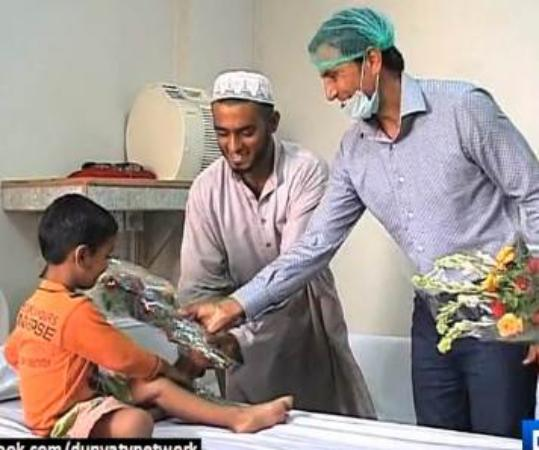 Younis Khan Met Thalassemia Affected Kids