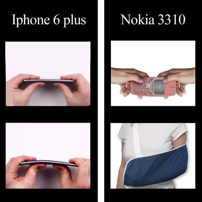iPhone 6 Plus Vs Nokia 3310