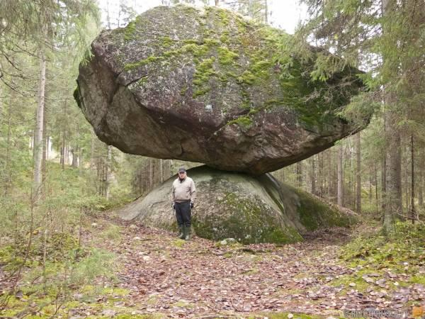A strange stone in Finland