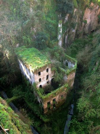 Breathtaking abandoned castle in Italy