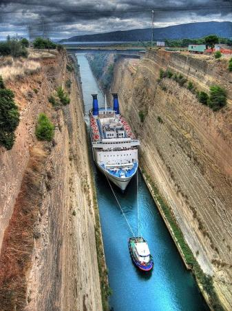Corinthos Channel, Greece