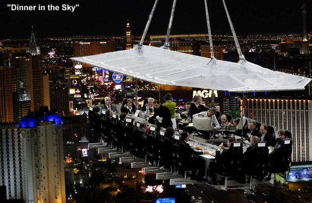 Dinner In the Sky Dubai