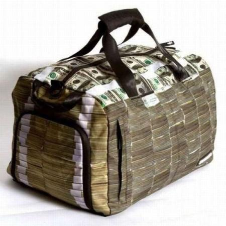 Dollars Travelling Bag