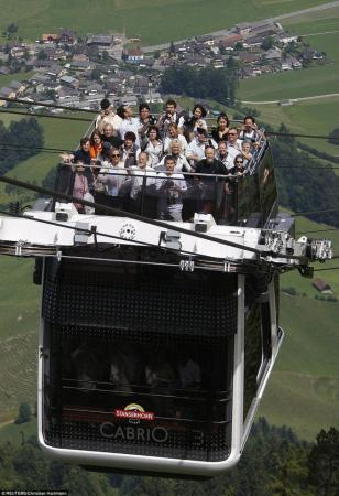 Double Decker Chairlift