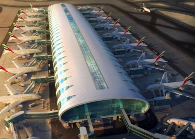 Dubai Airport, Terminal 3 - for Emirates Airlines only