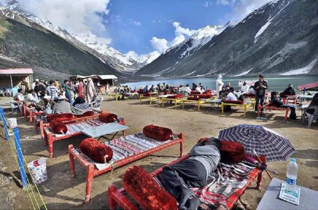 Enjoy the Fresh of Legendary Lake Saif ul Malook