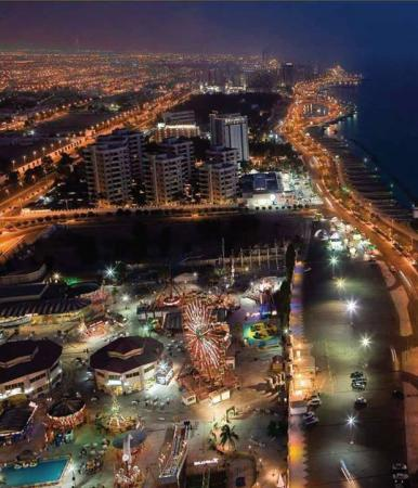 Jeddah City Night View