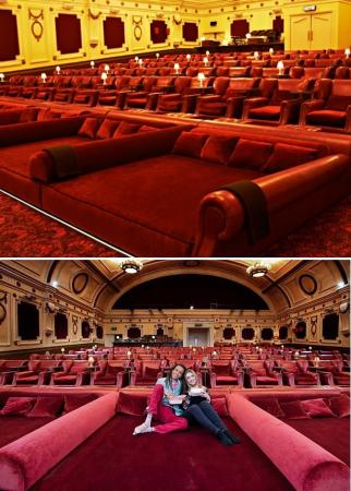 London cinema has double beds fitted - Luxurious Lifestyle
