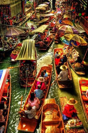 Thai Boat Market, Thailand