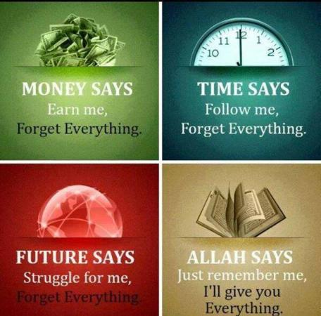 Allah Says - Remember Me