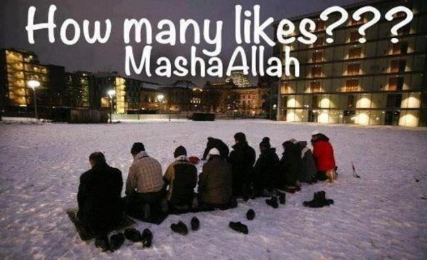 How Many Likes MashaAllah