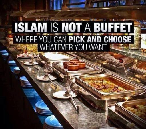 Islam Is Not A Buffet