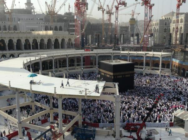 Khana Kaba Expansion Work