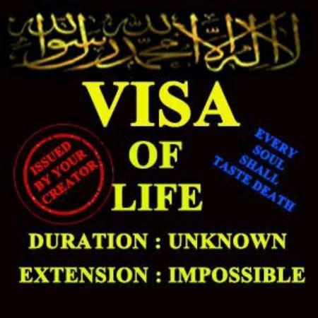 Visa Of Life...!!!