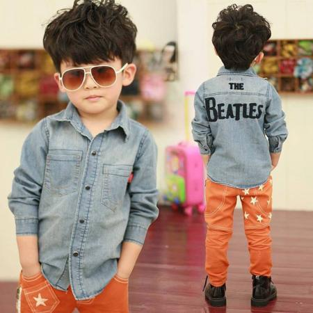 Cutiest Kid Ever... Check that style