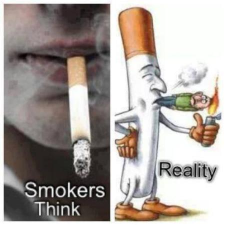 A Message To Smokers