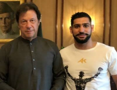 Boxer Amir Khan Donates 40 Million Rupees To The Pakistani Government For Their Coronavirus Fund
