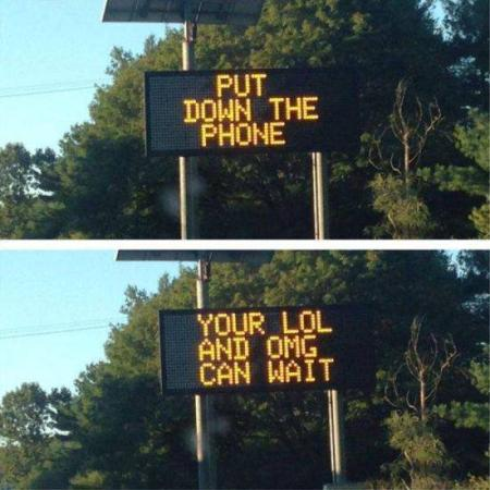 Cool Traffic Signs On Road