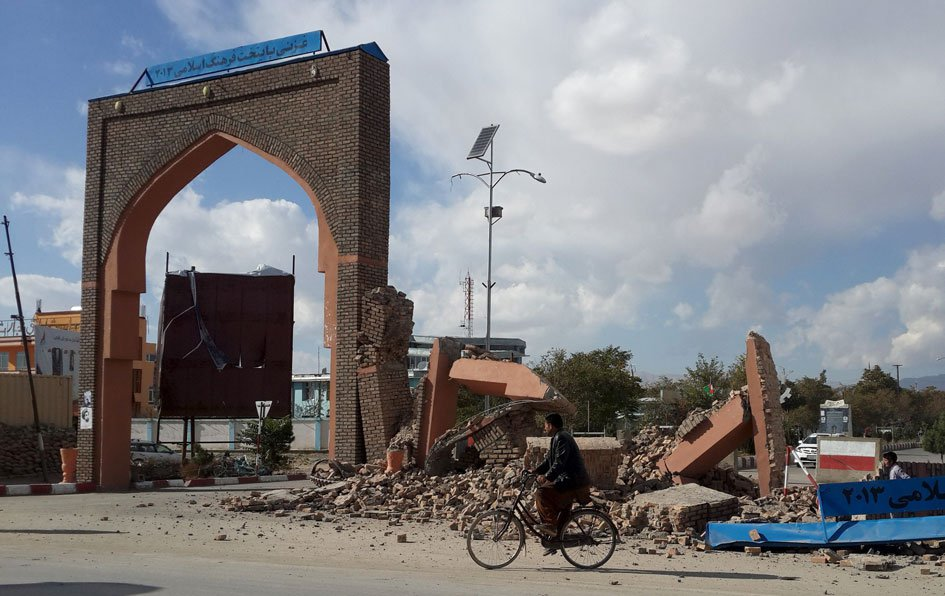 Devastating Earthquake hits Pakistan & Afganistan