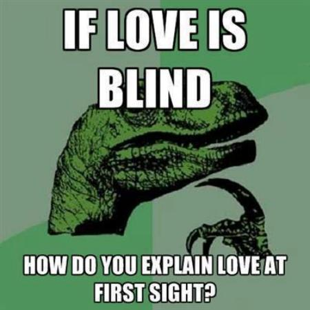If Love is Blind