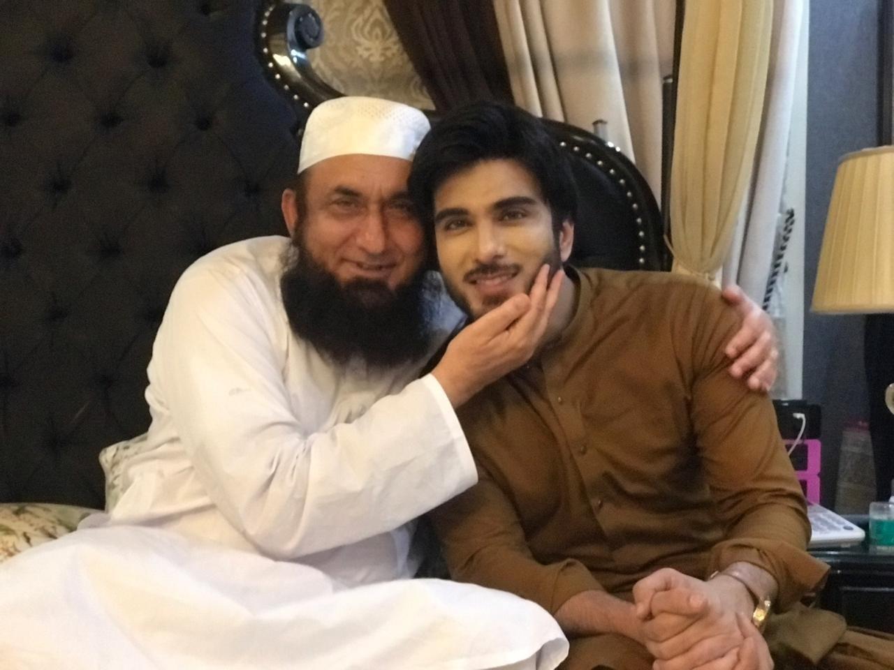 Imran Abbas Meets Maulana Tariq Jameel