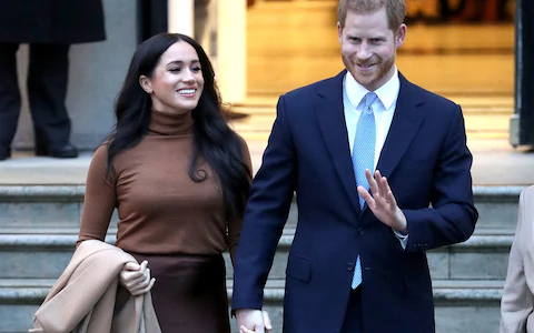 Prince Harry And Meghan To Step Back From Royal Family